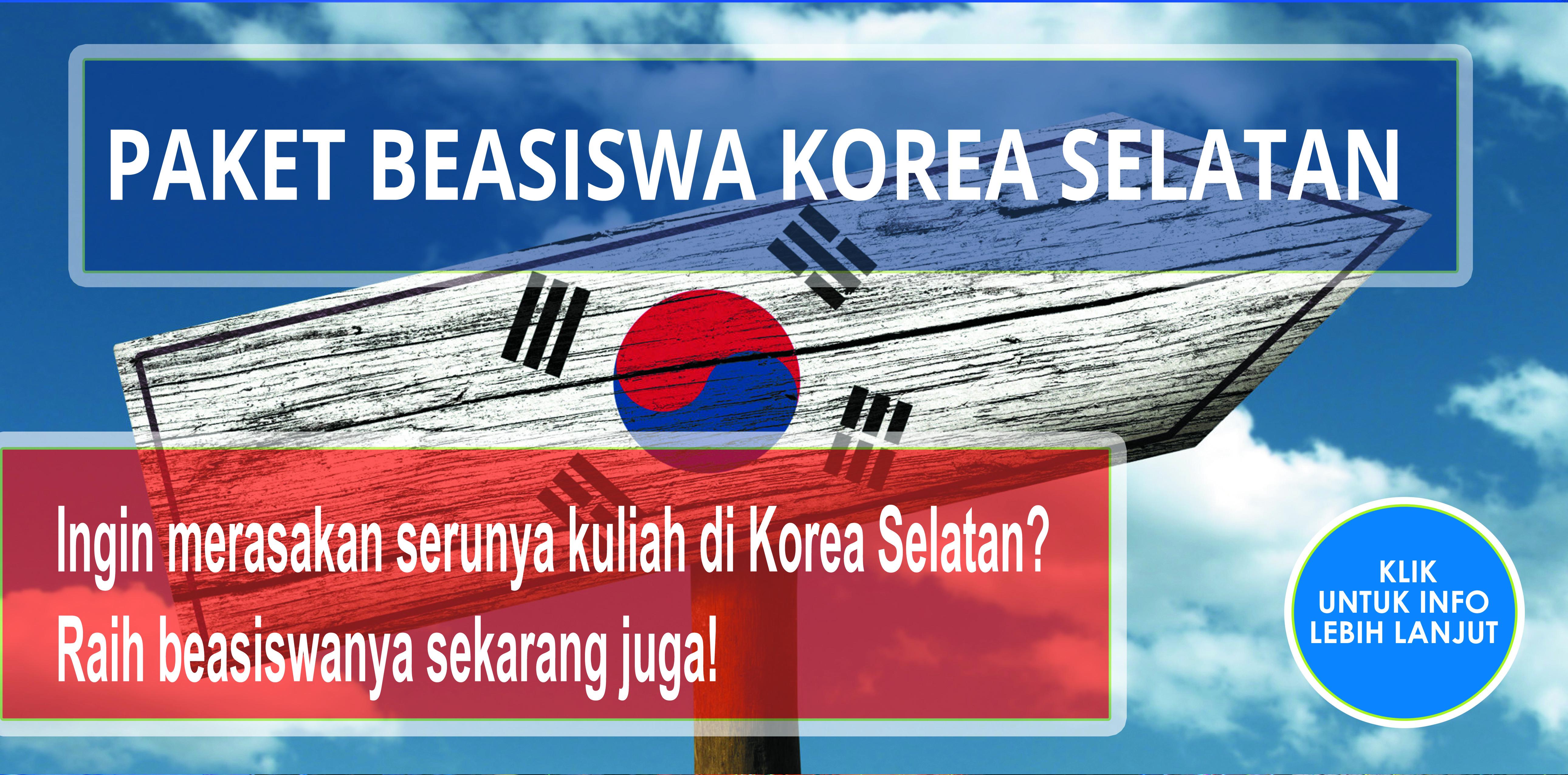 beasiswa di korea